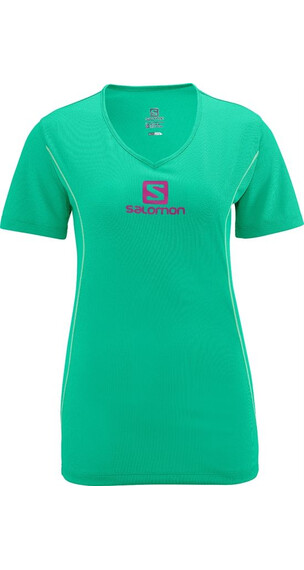 Salomon W's Stroll Logo Tee Popsicle Green